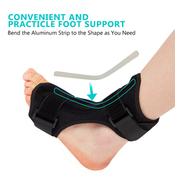 Plantar Fasciitis Dorsal Night & Day Splint Foot Orthosis Stabilizer Adjustable Drop Foot Orthotic Brace Support Pain Relief 2