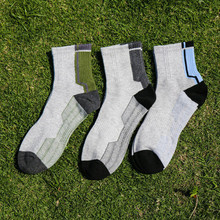 3 pairs Men's Sport Ankle Socks Breathable Cotton Socks Sport Socks One Size Cycling Bowling Camping Hiking Sock 3 Colors цены