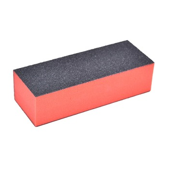 10pcs/Lot hand foot massager massage tools Nail Black Sanding Block Hear Heart Sanding Files Block Acrylic Nail Art Manicure Set 4