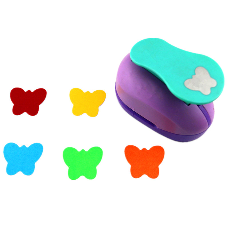 Butterfly 2'' craft punch paper cutter scrapbook child craft tool hole punches Embossing device kid paper puncher 1 inch 25mm crafy punches paper cutter punch embossing machine diy craft kindergarten children fine arts craft tools
