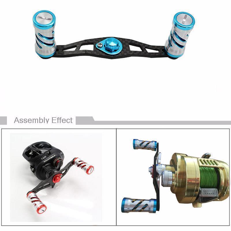 Aluminum Alloy Handle Reel Fishing Reel Spool Nut Lock DIY Set For ABU//DAIWA