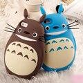 3D Bonito Dos Desenhos Animados Totoro Gato Silicone Macio Tampa Traseira Casos de Telefone Fundas para apple iphone 5s 5 se 6 6 s 6 mais 6 splus adorável Coque