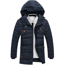 2018 Winter Jacket Men Brand Parka Men Clothing Zipper Cotton Padded Hooded Thicken Quilted Jackets Coat