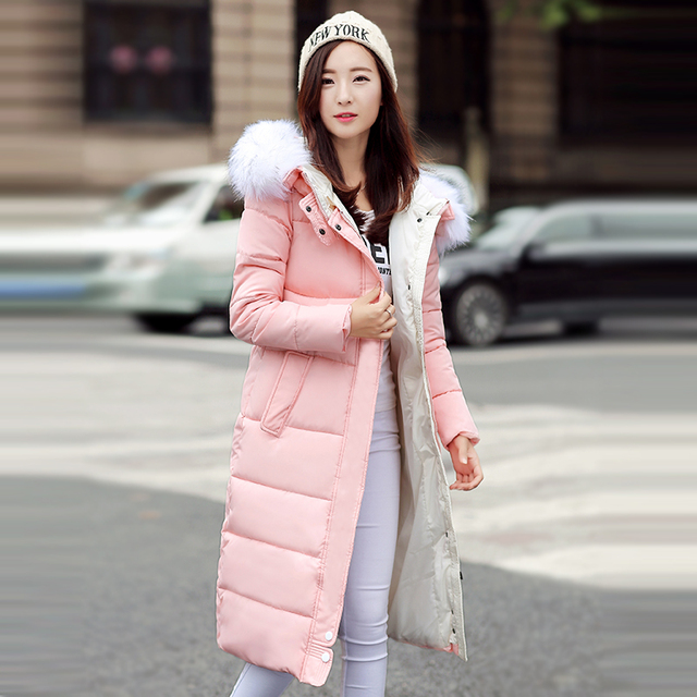 Зимняя Куртка Женщин 2016 Зимой И Осенью Носить Высокое Качество Парки Зимние Куртки И Пиджаки Женщины Длинные Пальто