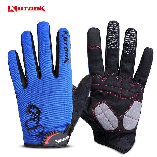 Best Offers KUTOOK Winter Fishing Gloves Fishing Wear Equipment Hunting Outdoor Sports Fitness Cycling Thermal Gloves Full Finger Gloves