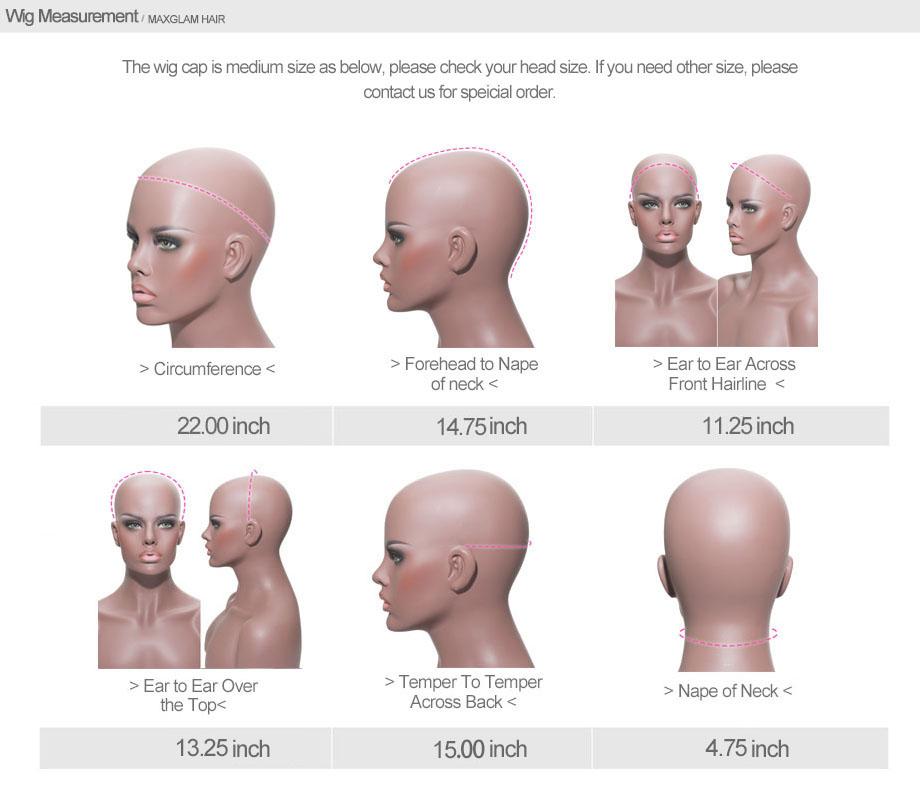 lace front human hair wigs for black women brazilian malaysian indian peruvian virgin hair short long wigs for sale discount (1)