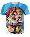 Recentes Alisister Tupac 2pac T Shirt Da Forma Hiphop Punk Rock de Manga Curta Camisetas Casuais mulheres/homens t-shirt Harajuku topos