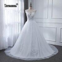 yiwumensa Vestidos de Novia Sexy Backless Dresses Wedding 2019 Custom Made Plus Size Wedding Gowns Ball Gowns Bride Dress