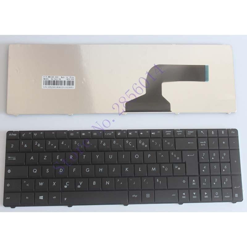Français Clavier POUR ASUS K52 N50 N53S N53SV K52F K53S K53SV K72F A53 A52 U50 G51 N51 N53 FR ordinateur portable clavier Noir