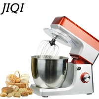 JIQI 6 5 Liters Electric Food Mixer Automatic Eggs Beater Milkshake Cake Dough Maker Stand Mixers