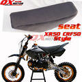 Black Pit Bike Seat Dirt Bike Seat For XR50 CRF50 Style Chinese KAYO BSE Apollo OEM SSR SDG GPX CRZ 50/70/90/110/125/140/150cc