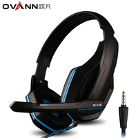 Gaming Headsets Headband Wired Stereo Bass Noise Isolation X1 S Gaming Headphones With Mic Volume Control