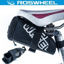 Roswheel Drawer Saddle Bag Cycling Mountain Bike Bicycle Saddle Bag Back Seat Tail Pouch Package EVA Cycling Bag Seatpost Pouch