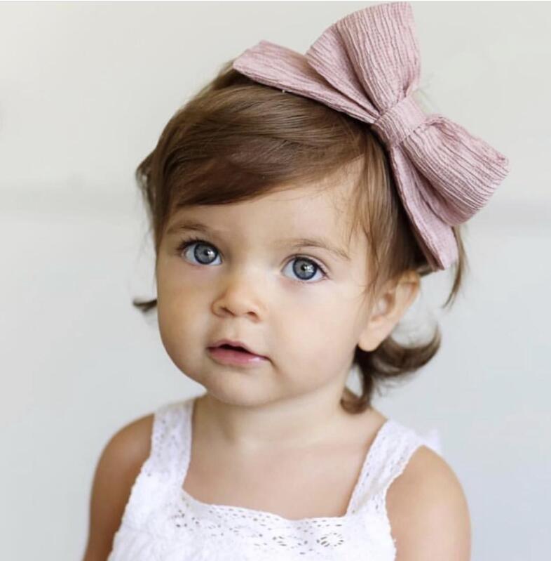 1 Pc Neue Haar Bögen Kunststoff Hairband Bunte Großen Bogen Haarband Für Kinder Mädchen Stirnbänder Für Haar Zubehör