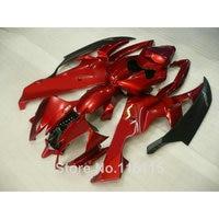 ABS body kits for YAMAHA R6 2006 2007 black red fairings YZF R6 06 07 injection molding full fairing kit NB016