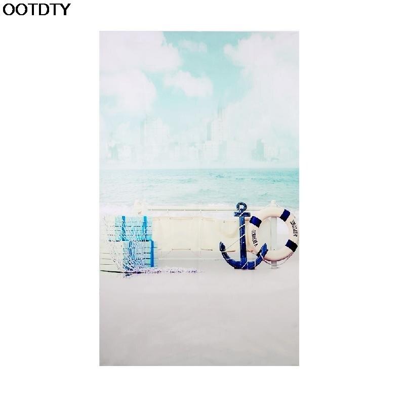 3X5FT Vinyl Backdrop Photography Prop Ship Deck Anchor Studio Photo Background #L060# new hot