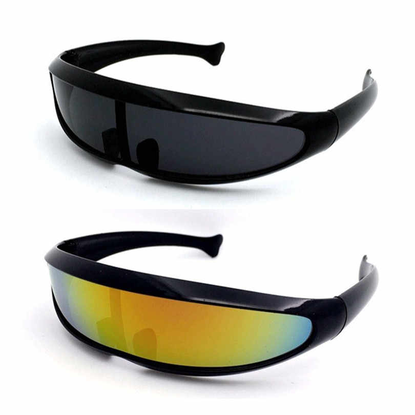 6bb7429556bd X-men Laser Sunglasses For Men Mercury Lens Glasses Driving Individuality  Windproof Sun Glasses Robots