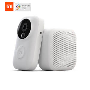 Xiaomi Doorbell-Set Push-Intercom Free-Cloud-Storage Ai-Face Identification Motion-Detection