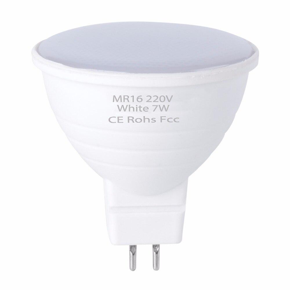WENNI Spotlight MR16 LED Corn Bulb GU10 LED Bulb 220V Spot Light 5W GU5.3 Focos LED Lamp 7W Gu 10 Lights For Home Bombillas 2835