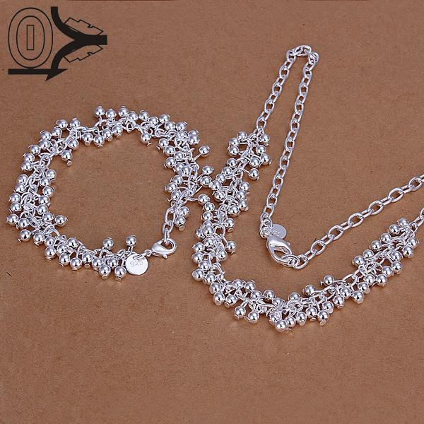 Hot Sell Silver Plated Jewelry SetCheap Bridal Party SetsWestern