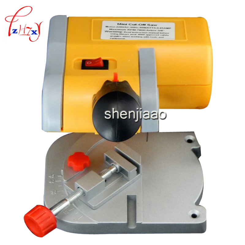 220v Mini cut out mini saw miter saw metal non-ferrous metal plastic wood Mini cutting machine Mini tool saws 96pcs 130mm scroll saw blade 12 lots jig cutting wood metal spiral teeth 1 8 12pcs lots 8 96pcs