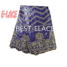 High quality african fabric for nigeria wedding dress pretty lace design  for african lace dress 1702b2424d20