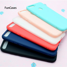 "Huawei Honor 7C Case Huawei AUM-L41 Case 5.7"" Silicone Soft TPU Cover Phone Case Huawei Honor 7C 7 C AUM-L41 Russian Version(China)"
