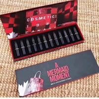 Cosmetics 1984 A Mermaid Moment Matte Lipstick 12 Colors Lipstick Set 12pcs Matte Lipstick Kit