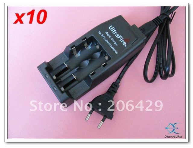 10PCS UltraFire Rapid Charger For 3.7V Lithium Battery WF-139 Multifunction Charger
