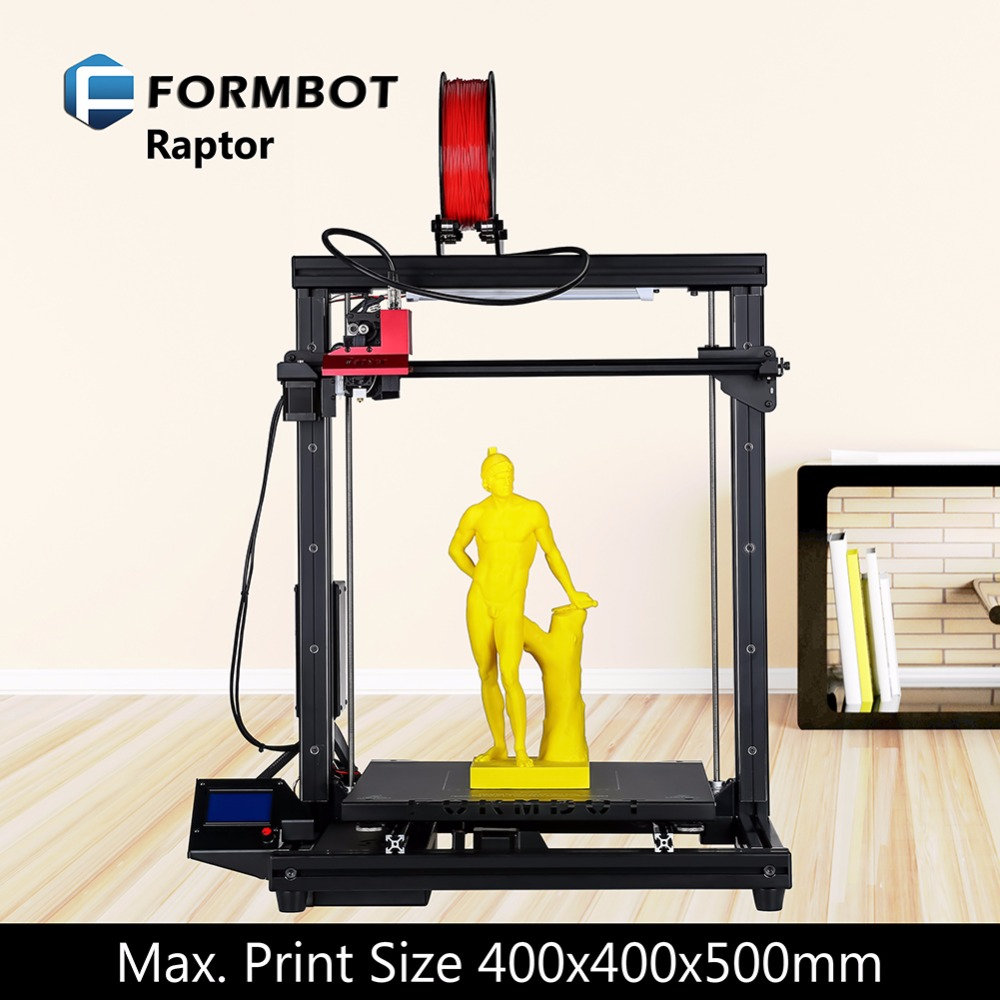 FORMBOT Raptor high precision good quality easy assemble resolution diy kit big printing size 400*400*500mm