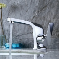 Becola Innovative fashion style Basin faucet Cold and hot water bathroom tap Gold Black White B 10005