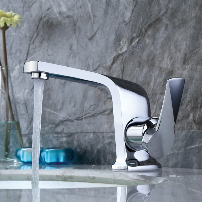 Becola Innovative fashion style Basin faucet Cold and hot water bathroom tap Gold Black White B-10005Becola Innovative fashion style Basin faucet Cold and hot water bathroom tap Gold Black White B-10005