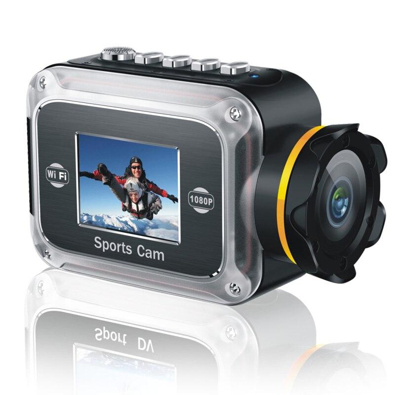 Winait FULL hd1080p WIFI caméra d'action étanche avec 140 degrés de large ange caméra vidéo sport numérique