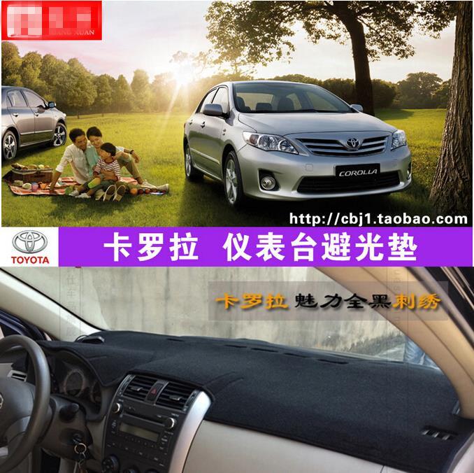 Dashmats araba-styling aksesuarları Toyota Corolla Axio Altis için - Araç Içi Aksesuarları - Fotoğraf 1
