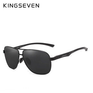 Image 3 - KINGSEVEN New Aluminum Brand New Polarized Sunglasses Men Fashion Sun Glasses Travel Driving Male Eyewear Oculos N7188