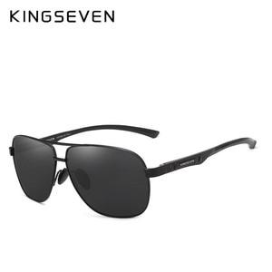 Image 3 - KINGSEVEN 新アルミ真新しい偏光サングラス男性ファッションサングラス走行駆動男性眼鏡 Oculos N7188