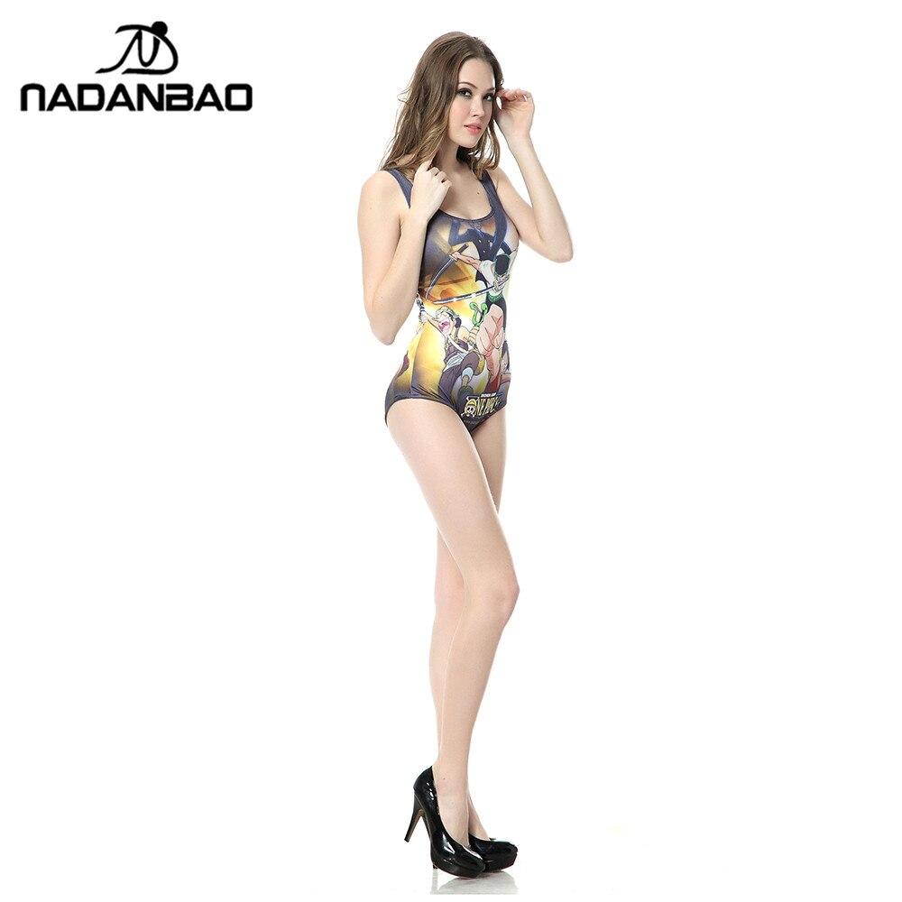 Sexy Badeanzug Ärmellos Frauen Bademode Badeanzug Japan Cartoon - Sportbekleidung und Accessoires - Foto 4