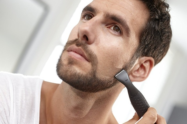 4in1 wet dry electric shaver set hair trimmer beard electric razor for men grooming kit facial shaving machine nose ear trimer 1