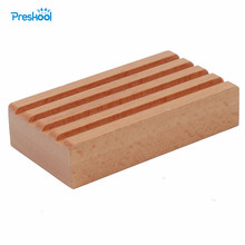 Baby Toy Montessori Holder for 4 Pencils Wood Early Childhood Preschool Kids Brinquedos Juguetes