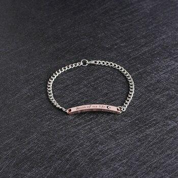 Bracelet Distance En Argent