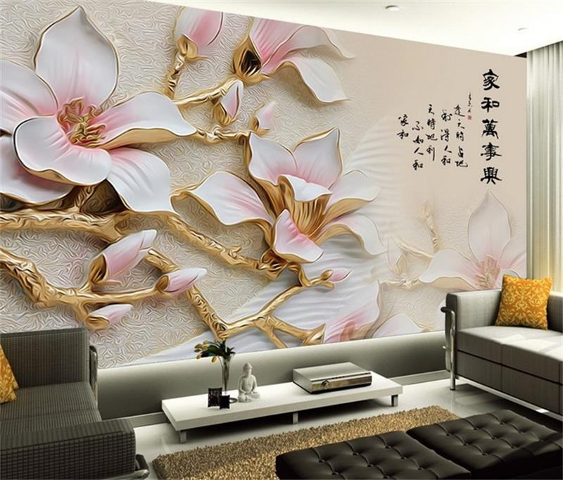 3d papel pintado personalizado mural no tejido pegatina de