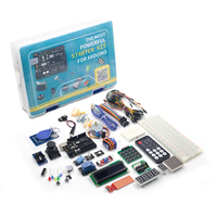 UNO Project Super Starter Kit with Tutorial, UNO R3 Controller Board, Servo, Stepper Motor, Relay etc. for Arduino Projects 2019