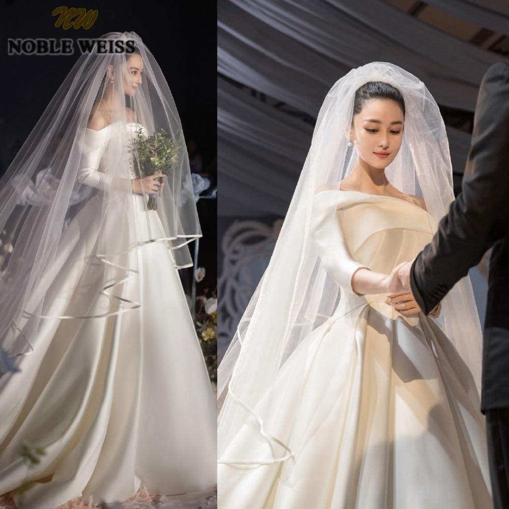 Celebrity Weddings 2019: Aliexpress.com : Buy NOBLE WEISS Luxury Satin Celebrity