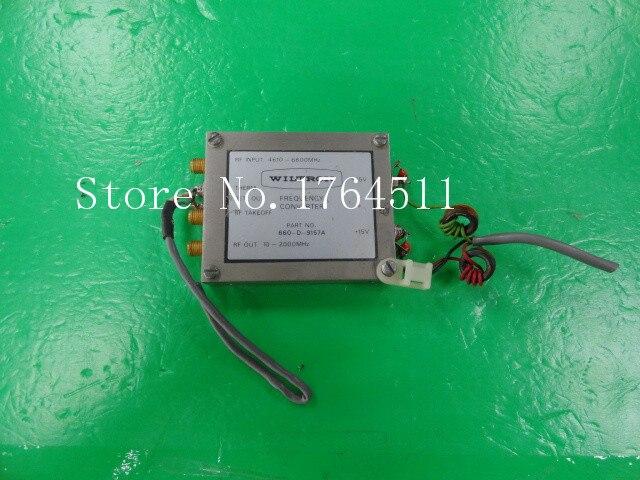 [BELLA] WILTRON 660-D-9157A 10-6600MHZ -15V +15V SMA Radio Frequency Converter