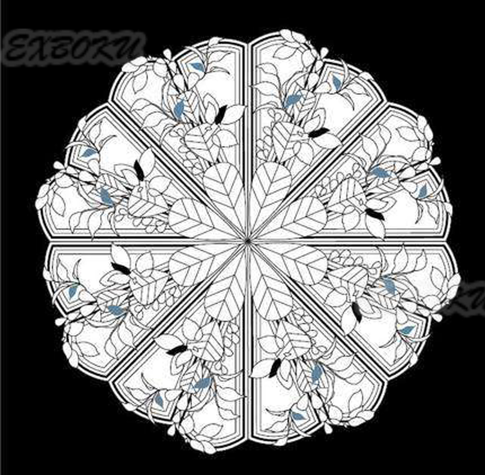 Magic-Mandala-stars-coloring-book-for-Children-Adults-Relieve-Stress-Picture-Art-Painting-Drawing-Colouring-Book (3)
