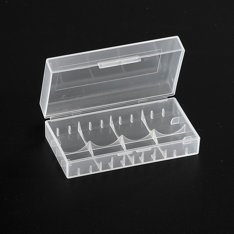 <font><b>Battery</b></font> Storage Box for 18650 <font><b>18500</b></font> 14500 <font><b>Battery</b></font> <font><b>Case</b></font> Holder Double Groove Plastic Hard <font><b>Case</b></font> <font><b>Battery</b></font> Container Bag X02 image