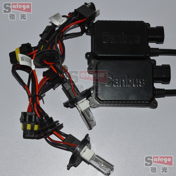 ФОТО 5sets 12V H4-2 halogen 35w HID conversion xenon KIT AC 12V h4 halogen xenon hid xenon kit 35w  HID KIT