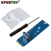 M.2 To USB 3.0 PCI E Riser Card Adapter Converter For Mining