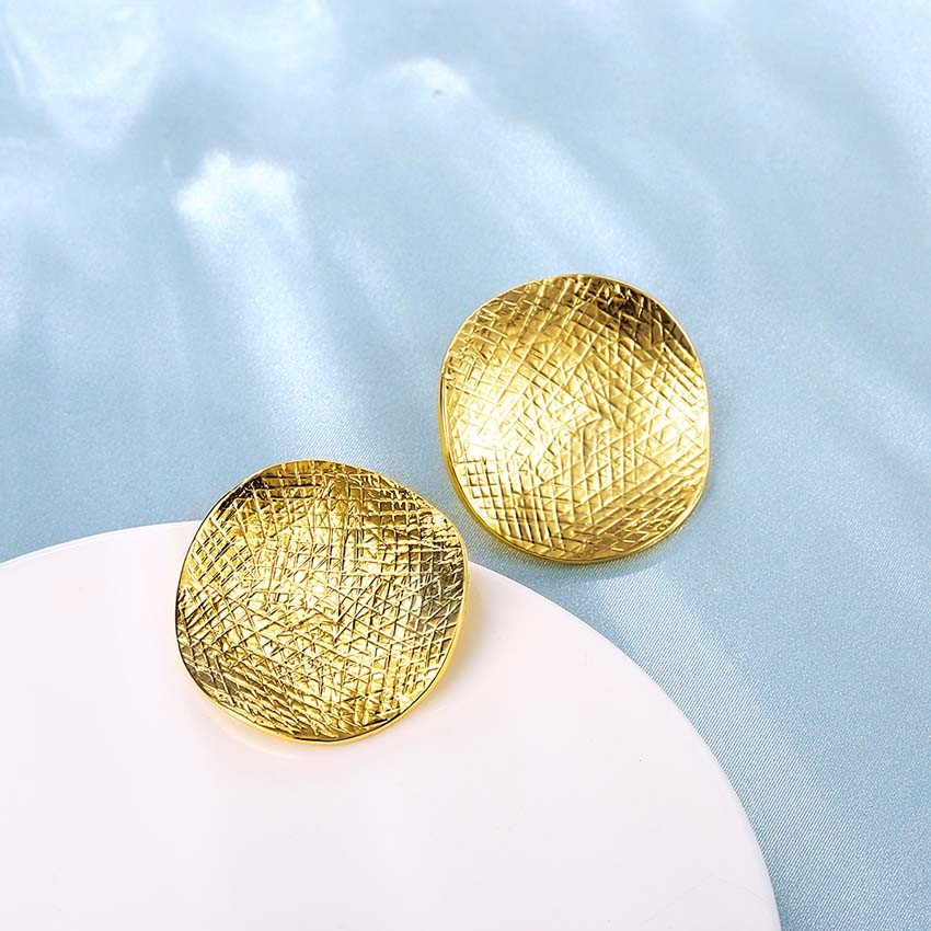 Online Buy Wholesale stud earring gold plated from China stud ...