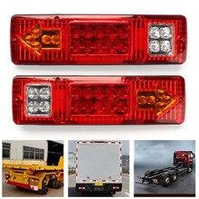 TAIHONGYU пара 19 светодиодный Тормозная поворотник Запуск фонарь для Прицеп колесах ATV SWTG грузовик